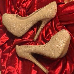 Shoes - Glamorous studded heels